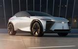 89 Lexus LF Z concept official images static front