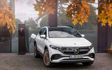 89 Mercedes Benz EQA official images charging