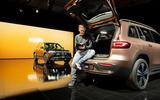89 Mercedes Benz EQB 2021 official images boot notes
