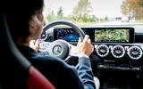 Mercedes-Benz GLA prototype ride 2019 - interior