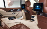 Mercedes-Maybach GLS 600 official press images - rear infotainment