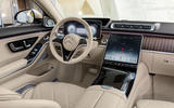 2021 Mercedes-Maybach S-Class official images - dashboard