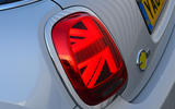 a month with a Mini Electric - rear lights