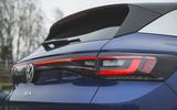 89 Mustang Mach e ID 4 Polestar 2 triple test 2021 VW rear