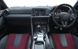Nissan GT-R Nismo 2020 official reveal - dashboard