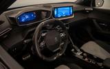 Peugeot e-2008 reveal studio - cabin