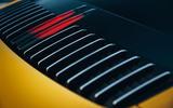 2019 Porsche 911 Carrera S track drive - rear light