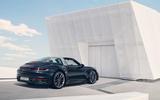 Porsche 911 Targa 992 official images - static rear