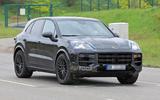 89 Porsche Cayenne 2022 spies front