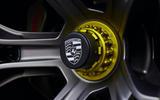 89 Porsche Mission R concept feature alloy wheels