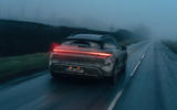 89 Porsche Taycan Cross Turismo prototype drive on road rear