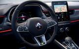 2021 Renault Arkana official European images - steering wheel