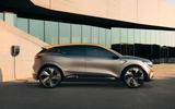 Renault Megane eVision concept official images - static side