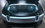 Rivian R1T electric pick-up reveal - frunk