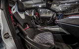 Skoda Vision RS concept drive - seats