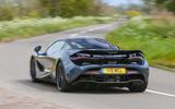 Top 50 cars 2020 - final five - McLaren 720S rear