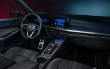 Volkswagen Golf Estate Mk8 studio - cabin