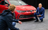 Volkswagen Golf GTI 2020 design cues - details