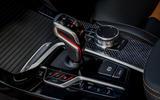 BMW X3M official press - centre console