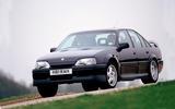 Vauxhall Lotus Carlton 1999 - tracking front