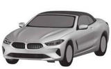 BMW 8 Series: patent pictures show convertible and Gran Coupe