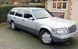 8 Mercedes E300 estate