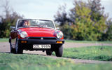MG Midget - tracking front