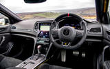 8Renault Megane RS 300 Trophy 2021 UK first drive review cabin