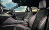 Alfa Romeo Giulia Quadrifoglio 2020 UK first drive review - front seats