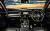 Alfa Romeo Stelvio Sprint 2020 UK first drive review - dashboard