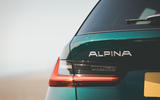 Alpina B3 Touring 2020 UK first drive review - rear lights