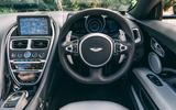 Aston Martin DBS Superleggera Volante 2019 UK first drive review - dashboard