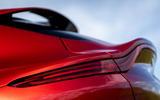 Aston Martin DBX 2020 UK first drive review - rear lights