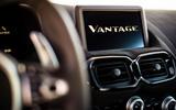 Aston Martin Vantage infotainment