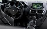 Aston Martin Vantage manual 2019 first drive review - dashboard