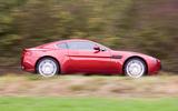 Aston Martin V8 Vantage 2005 - side profile