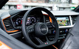 Audi A1 Citycarver 2019 first drive review - steering wheel