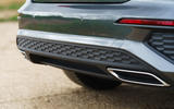 Audi A3 Sportback 2020 UK first drive review - exhaust