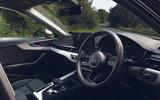 Audi A4 35 TFSI 2019 UK first drive review - dashboard
