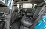 Audi E-tron quattro 2018 first drive review - rear seats