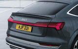 9 Audi E tron S Sportback 2021 UK first drive review liftback