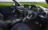 Audi Q2 35 TFSI Sport 2020 UK first drive review - cabin