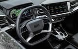 9 Audi Q4 2021 FD steering wheel
