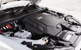9 Audi Q7 TFSIe 2021 UK FD engine