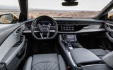 Audi Q8 2018 first drive review dashboard