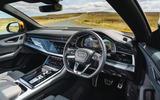 9 Audi Q8 TFSI e 2021 uk FD dashboard