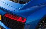 Audi R8 RWD 2020 UK first drive review - rear lights