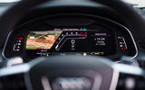 Audi RS6 2020 UK first drive review - instruments