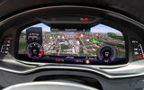 Audi S6 Avant TDI 2019 UK first drive review - navigation