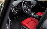 Audi SQ5 2019 first drive review - dashboard